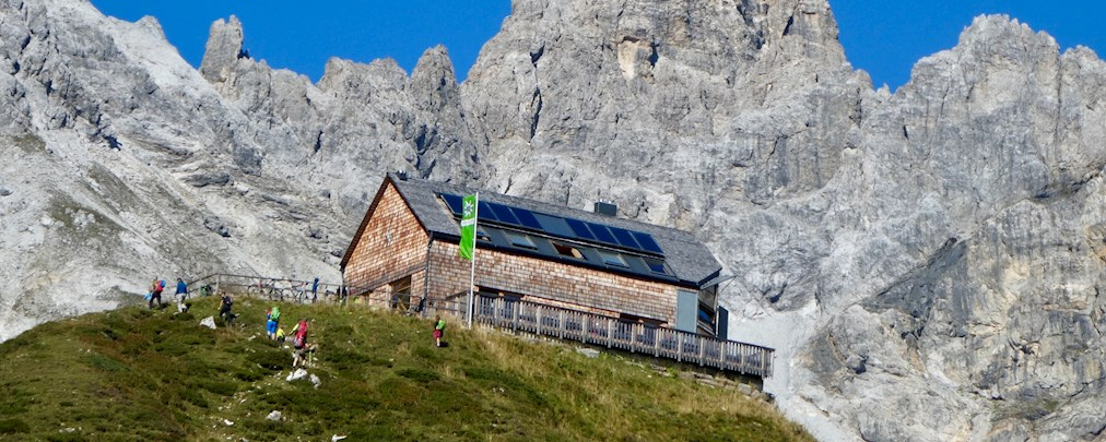 Franz Fischer-Hütte: Auszeichnung für erste rein vegetarisch-vegane Hütte