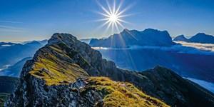 Bergtour auf die Upsspitze in den Ammergauer Alpen
