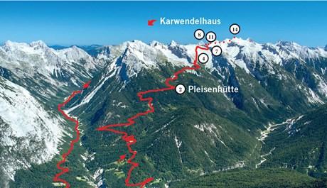 Bike & Hike Karwendel: Über Breitgrießkarspitze und Große Seekarspitze
