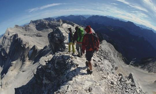 Nordgrat der Großen Seekarspitze