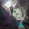 Simone Moro in der Eishöhle